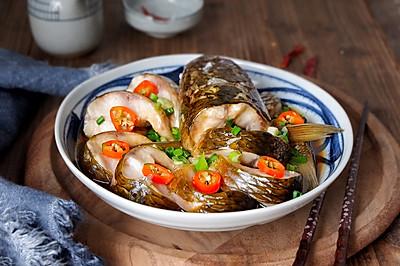 清蒸梭鱼#春季食材大比拼#