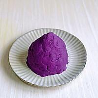 #换着花样吃早餐#紫薯雪山的做法图解6