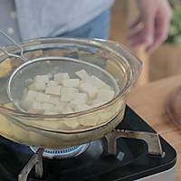 白菜虾皮豆腐煲的做法图解4