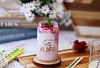 #轻饮蔓生活#蔓越莓牛奶饮的做法