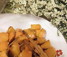 非油炸版--拔丝红薯的做法