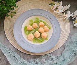 手工虾丸丝瓜汤的做法