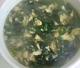 海带菠菜汤的做法