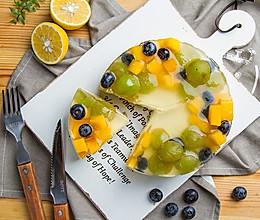 葡萄果冻蛋糕的做法