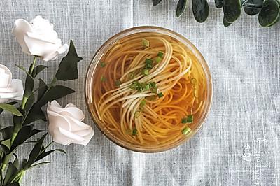 #花10分钟,做一道菜!#阳春面