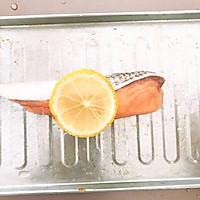 #爽口凉菜,开胃一夏!#烤三文鱼的做法图解2