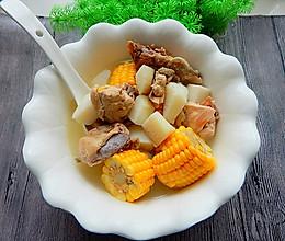 玉米山药鸡汤的做法