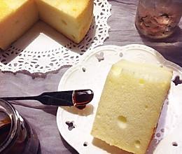 超柔软烫面戚风蛋糕 没有淡奶油也很好吃的做法