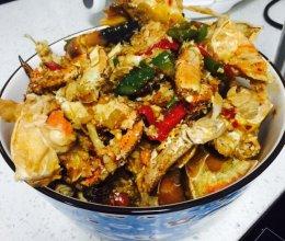 姜蒜香辣面包蟹的做法
