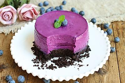 蓝莓酸奶冻芝士蛋糕