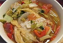 蔬菜烩饭的做法