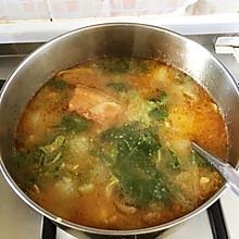 米粉白菜汤