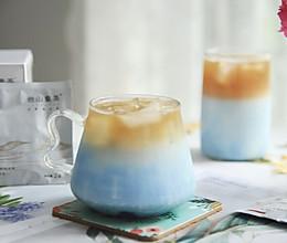 梦幻玫瑰滇红奶茶的做法