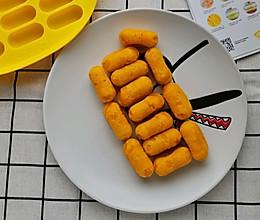 #我要上首焦#宝宝辅食  奶香南瓜发糕肠的做法