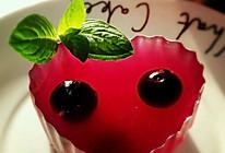 蓝莓果冻的做法