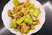 黄瓜炒腐竹的做法