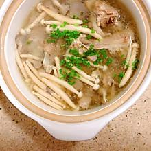 猪棒骨菌菇汤