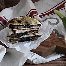 农家本土的味道,黑麦梅干菜烧饼