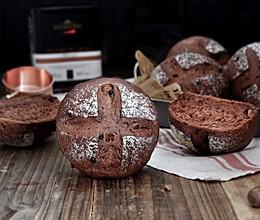 香蕉巧克力面包#挚爱烘焙·你就是MOF#的做法