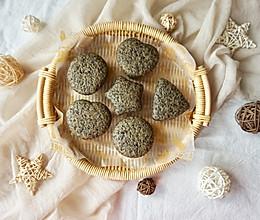 黑芝麻糙米发糕#嘉宝笑容厨房#的做法