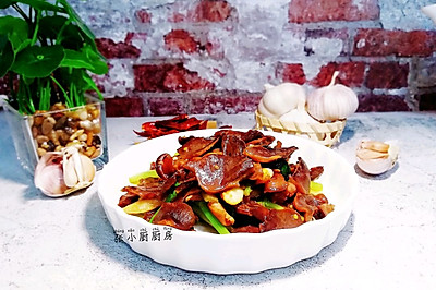 香芹双椒炒鹅胗~老少都爱吃的开胃菜