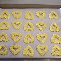 自制情人节礼物:爱心曲奇饼干的做法图解11