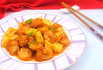 菠萝虾球#洁柔时刻,纸为爱下厨#的做法