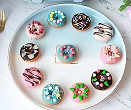 早餐机版~迷你甜甜圈的做法