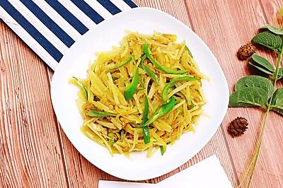 木姜子炒土豆丝