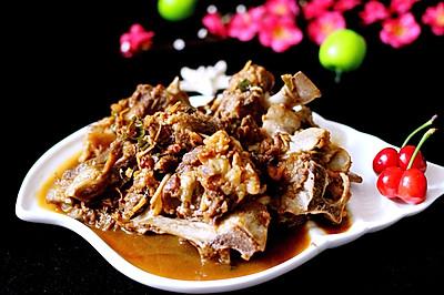 红烧羊脊骨#厨此之外,锦享美味#