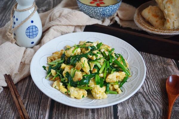 补肾健脾韭菜炒鸡蛋 简单快手家常菜的做法