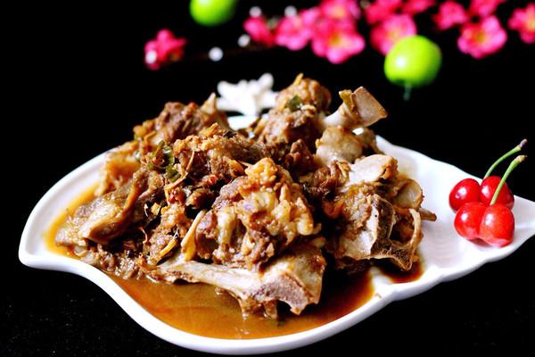 红烧羊脊骨#厨此之外,锦享美味#的做法