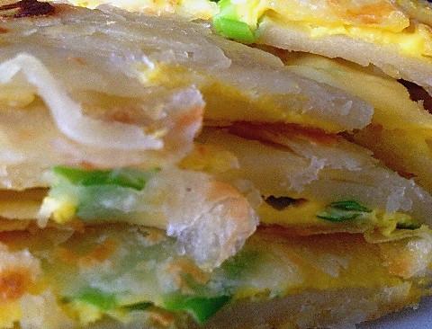 鸡蛋灌饼的做法