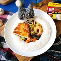 鱼排海鲜咖喱饭#好侍百梦多Lady咖喱#