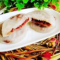 【豆沙晶饼】——弹性嚼劲,有香甜,简单速成的早餐或者餐间小点的做法图解8