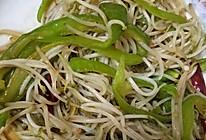 炒豆芽的做法