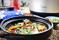 藿香泡椒炖牛尾(炖)#胆·敢不同,美的原生态AH煲#的做法