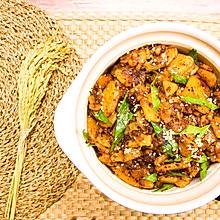 干锅土豆片,香辣真下饭#快手又营养,我的冬日必备菜品#