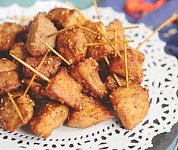 炸一锅治疗嘴馋的肉类小零食的做法