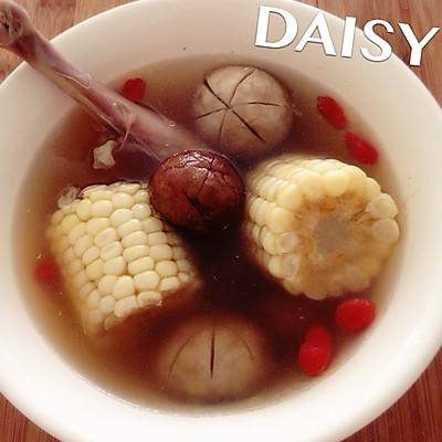 【❤汤】双菇玉米鸡汤(香菇 口蘑)