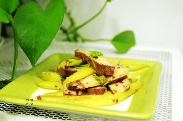 豆干拌黄瓜的做法