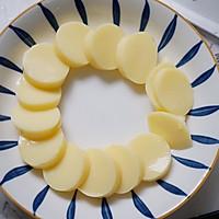 #味达美名厨福气汁,新春添口福#虾仁日本豆腐蒸鸡蛋的做法图解1