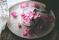 快手免打发的 桃花香草裸蛋糕的做法