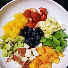 #餐桌上的春日限定#水果拼盘~水果捞