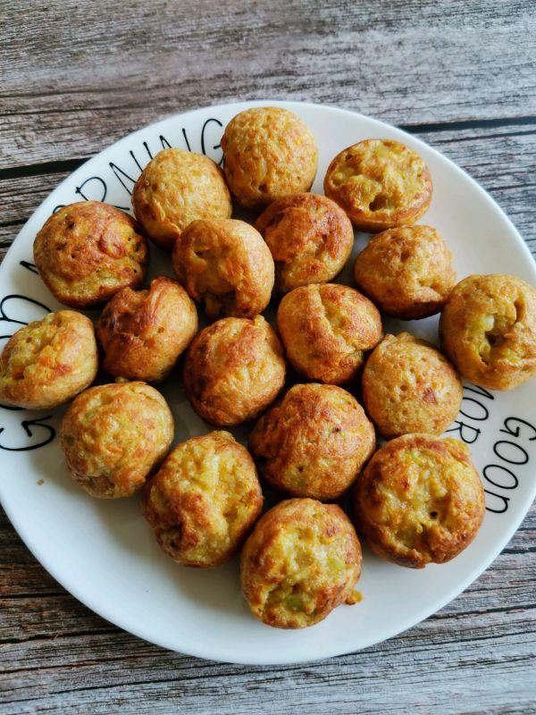土豆胡萝卜小丸子