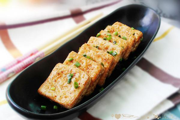 椒盐豆腐的做法