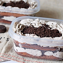 #带着零食去旅行!#奥利奥咸奶油盒子蛋糕