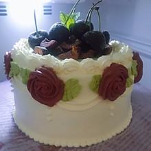 复古女神蛋糕