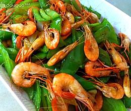 尖椒炒河虾的做法