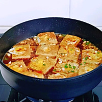 #憋在家里吃什么#茄汁鹌鹑蛋酿豆腐的做法图解10